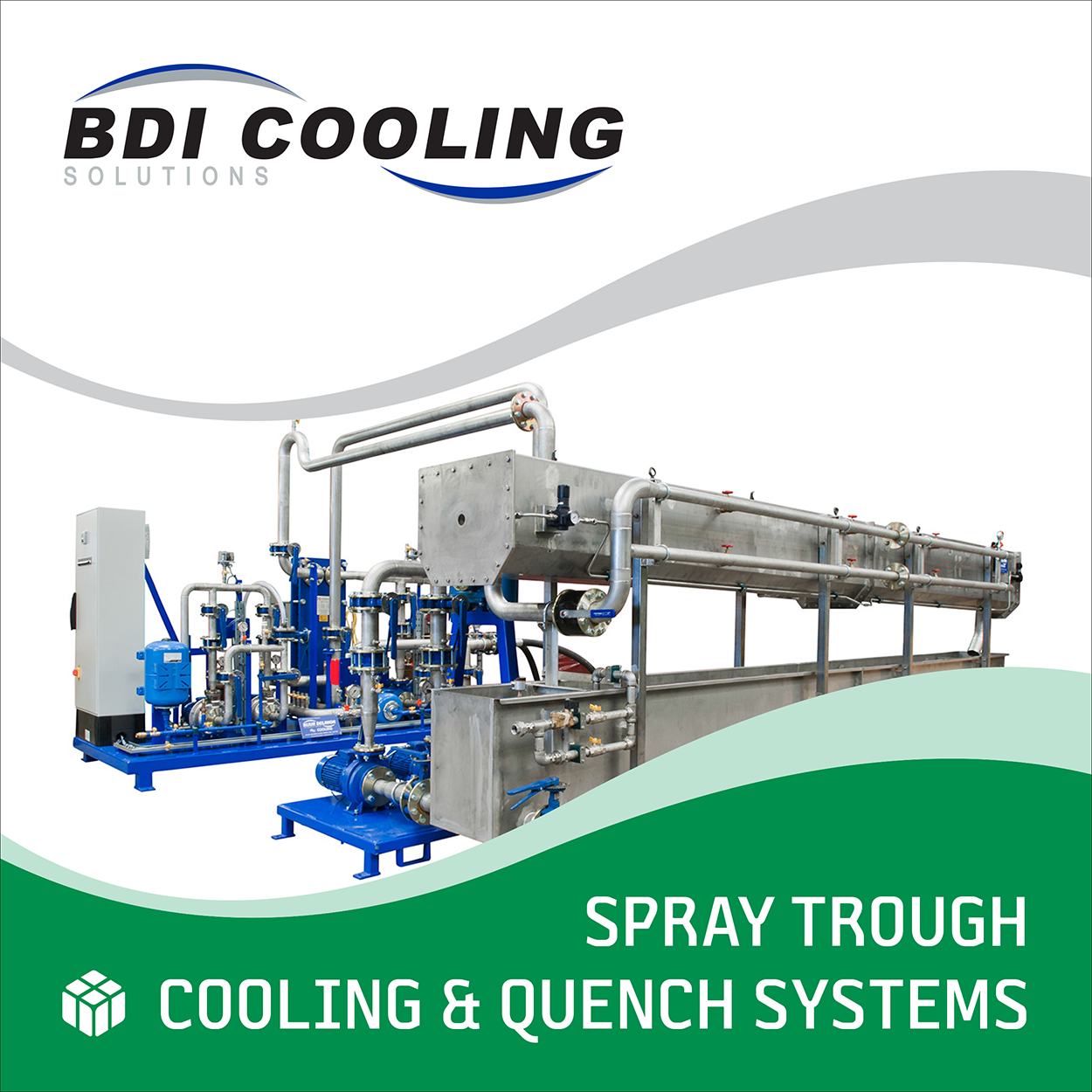 Spray Troughs and Fluid Solutions